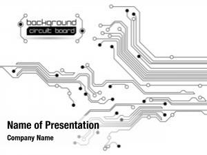Board abstract circuit raster version