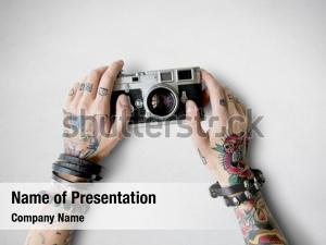 Tattoo camera ppt background