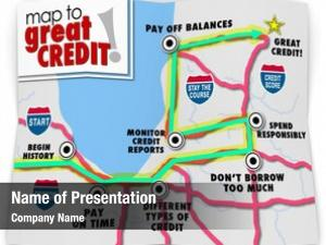 Credit map great words road