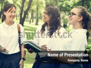 Multi ethnic student study uniform