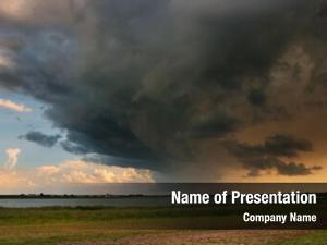 Clouds landscape storm