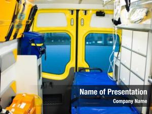 Ambulance interior contemporary car stretcher,
