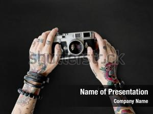 Tattoo camera ppt template