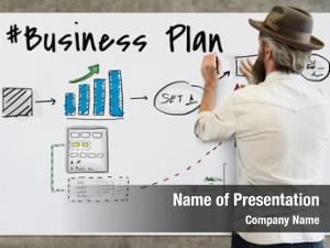 Flowchart business plan drawing sketch