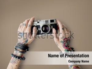 Creative photography tattoo camera