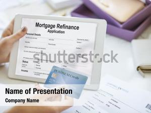 Shopping application mortgage refinance