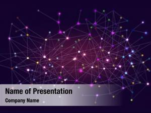Cloud, network molecule connections,