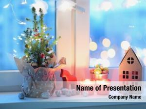 Christmas christmas tree, decorations, candles
