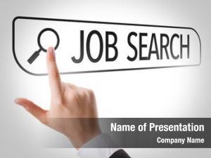 Written job search search bar