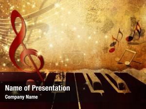 Keys, music piano music notes