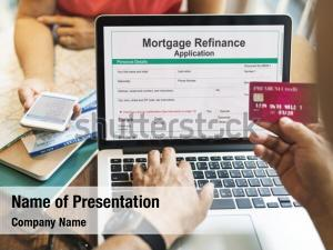 Connection application mortgage refinance