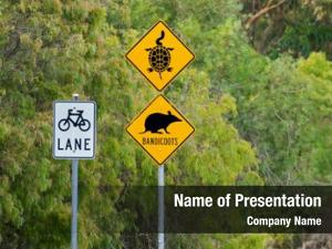 Signs australian road protect long