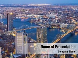 Brooklyn aerial view bridge manhattan