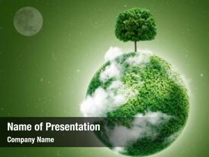 Earth green planet tree space
