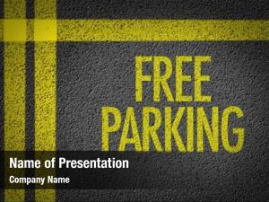 Written free parking parking lot