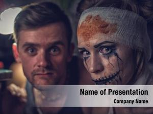 Her horrible girl boyfriend, zombie