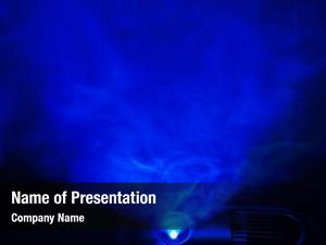 Light abstract blue projector