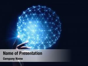 Technology media worldwide concept