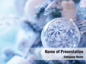 Decoration, beautiful christmas transparent ball