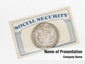 Security old social card antique
