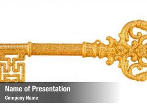White gold key