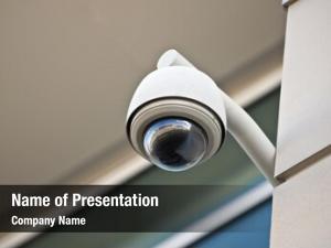 Overhead high tech security camera
