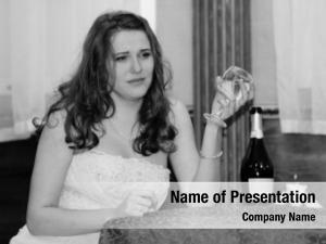 Sadness portrait fiance