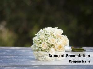 Roses bouquet wedding outdoor wedding