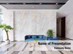 Lobby interior modern office building