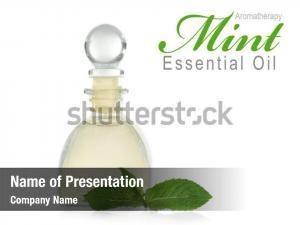 Glass bottle of essence