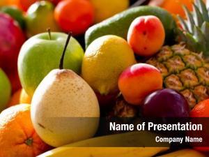 Fresh fruits assortment fruits, healthy