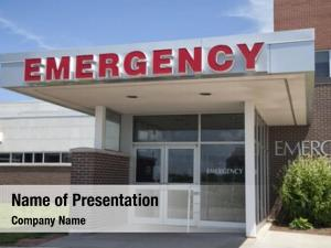 Medical emergency entrance hospital