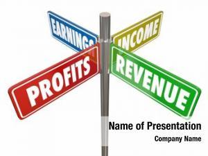 Income profits revenue earnings way