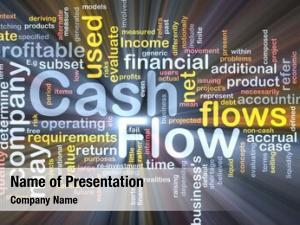 Wordcloud background concept flow cash
