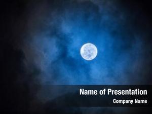 Full night photo moon perigee