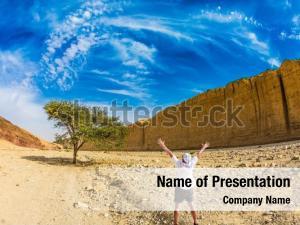 Stone desert near