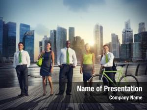 Green business people business corporate