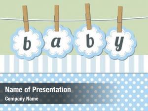 Arrival baby boy announcement card