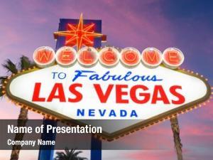 Nevada, las vegas, usa welcome