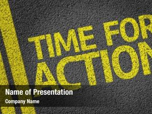Written time action road
