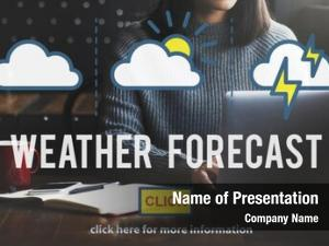 Temperature weather forecast meteorology concept