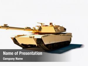 Tank military armored white