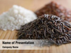 Rice: three variety wild rice,