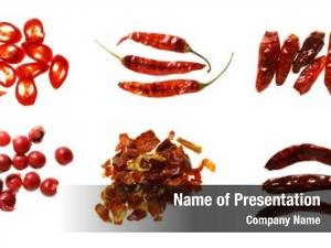Kinds six different chilli chilies pepper