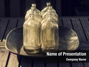 Bottles antique glass retro stylish