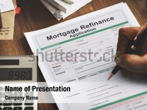 Remembrance application mortgage refinance
