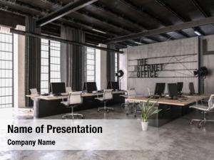 Internet modern trendy office industrial