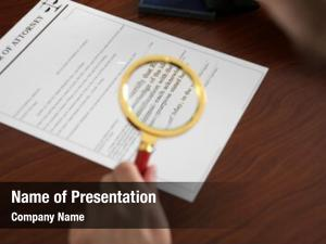 Reading notary public power attorney