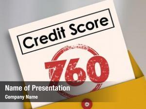 Words credit score report card