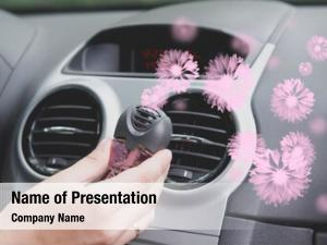 Freshner car air mounted ventilation